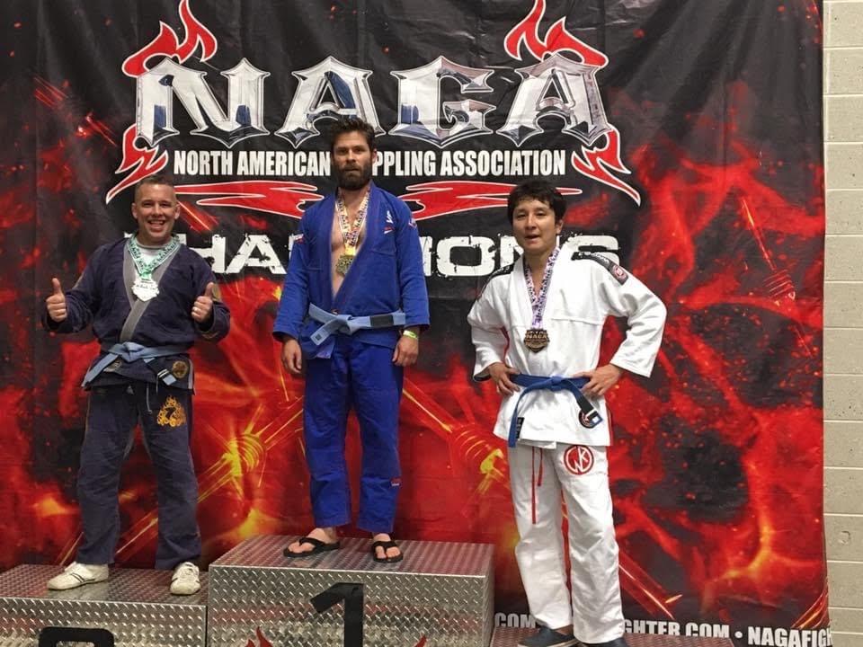 参加賞のメダル